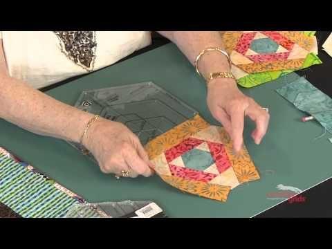 ▶ Creative Grids® CGRJAW4- Hexagon Trim Tool - YouTube