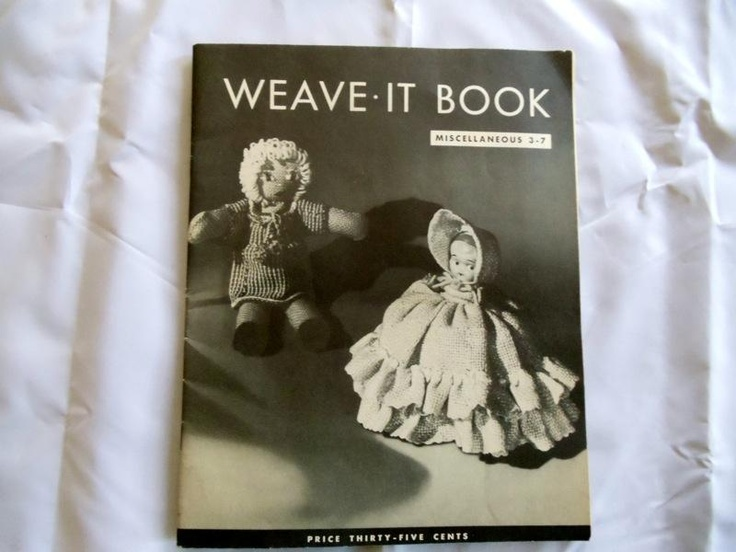 Weave It Book Miscellaneous 3-7  Vintage