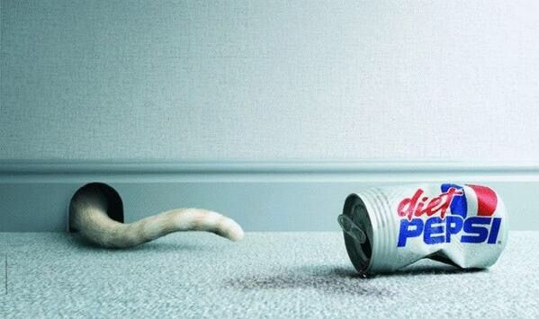 Diet Pepsi:  Really funny but it takes awhile to get it : ) PD