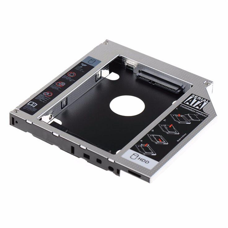 New 12.7mm SATA HDD SSD Hard Drive Caddy Hdd Enclosure Optical DVD Bay Adapter Hard Disk Esterno For Laptop Computer Asus K53SV