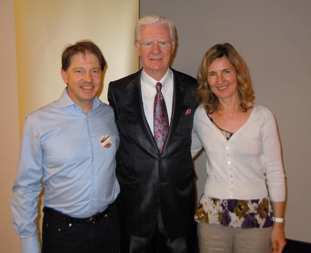 My wife and I together with Bob Proctor