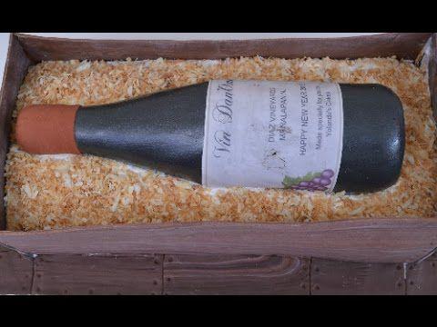 Bizcocho Caja con Vino
