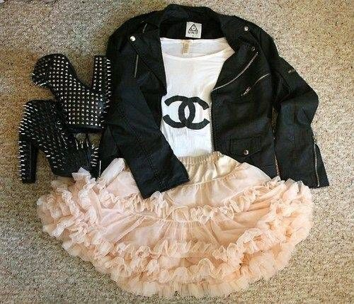 Rocker Chic #chanel love