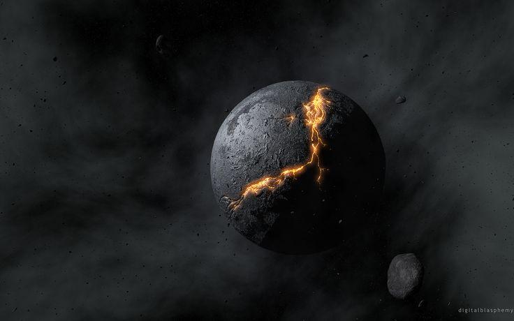 Crucible Planet ... Digital Blasphemy ... 2880 x 1800 ... 6.89MB
