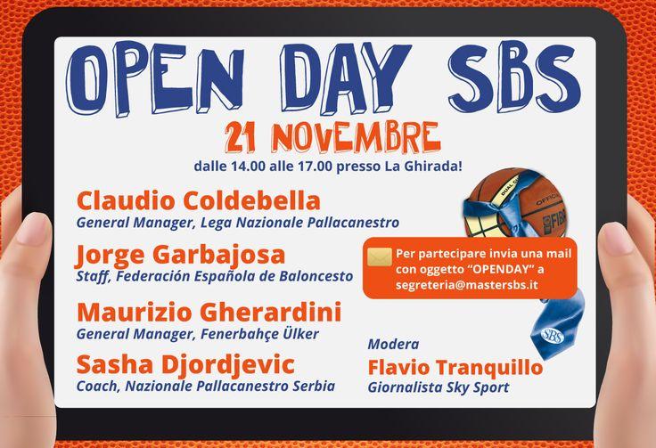 Al #mastersbs Open Day dedicato al Basket! #masterinsport #sportbusiness #laghirada