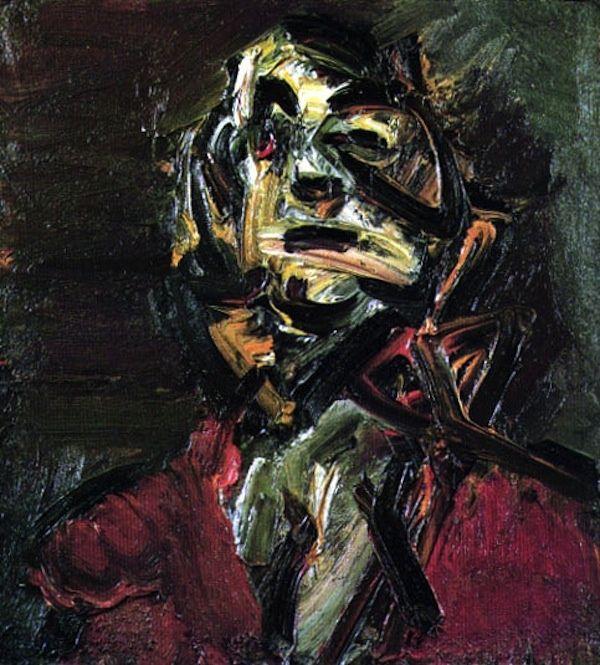 Frank Auerbach. Head of J.Y.M., 1981.   In Wikipedia