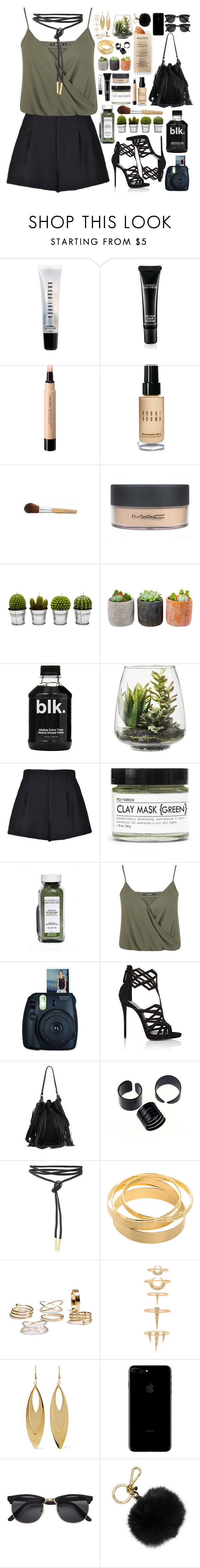 """Essentials"" by tiffy444 ❤ liked on Polyvore featuring Bobbi Brown Cosmetics, MAC Cosmetics, Shiseido, Martha Stewart, Billabong, Shop Succulents, Threshold, RED Valentino, Fig+Yarrow and Miss Selfridge"