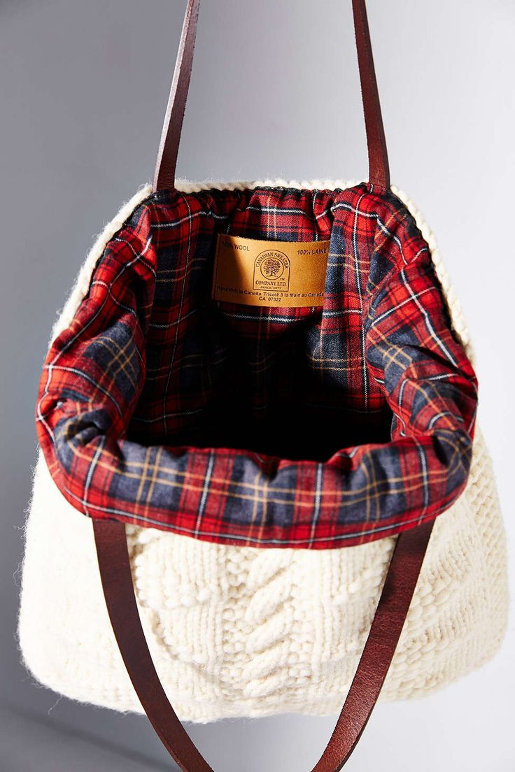 canadian sweater company tote bag