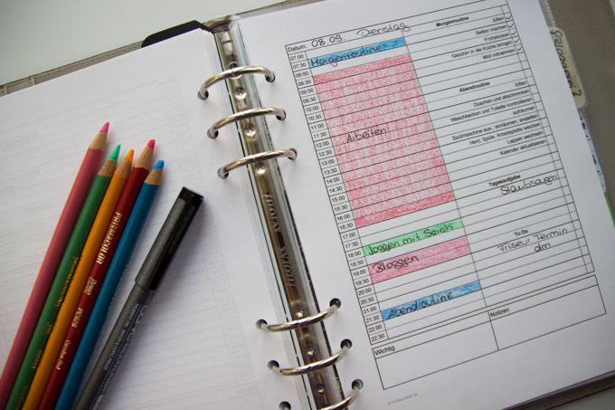 Besseres Zeitmanagement mit sinnvoller Tagesplanung