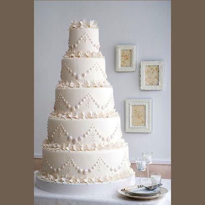 Beyaz Fırın - düğün ve nişan - düğün pastaları - inci