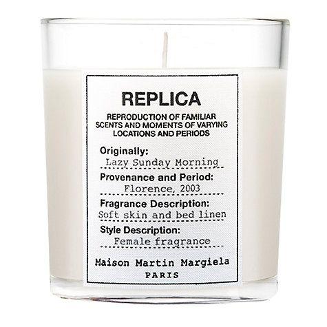 Buy Maison Margiela Replica Lazy Sunday Morning Candle, 185g Online at johnlewis.com