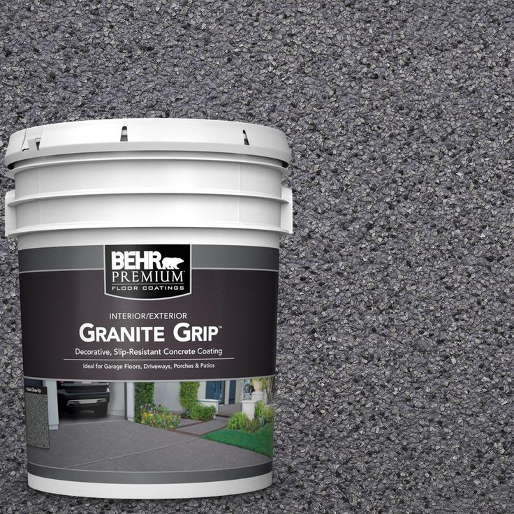 BEHR Premium 5 gal. #GG-08 Galaxy Quartz Decorative Concrete Floor Coating