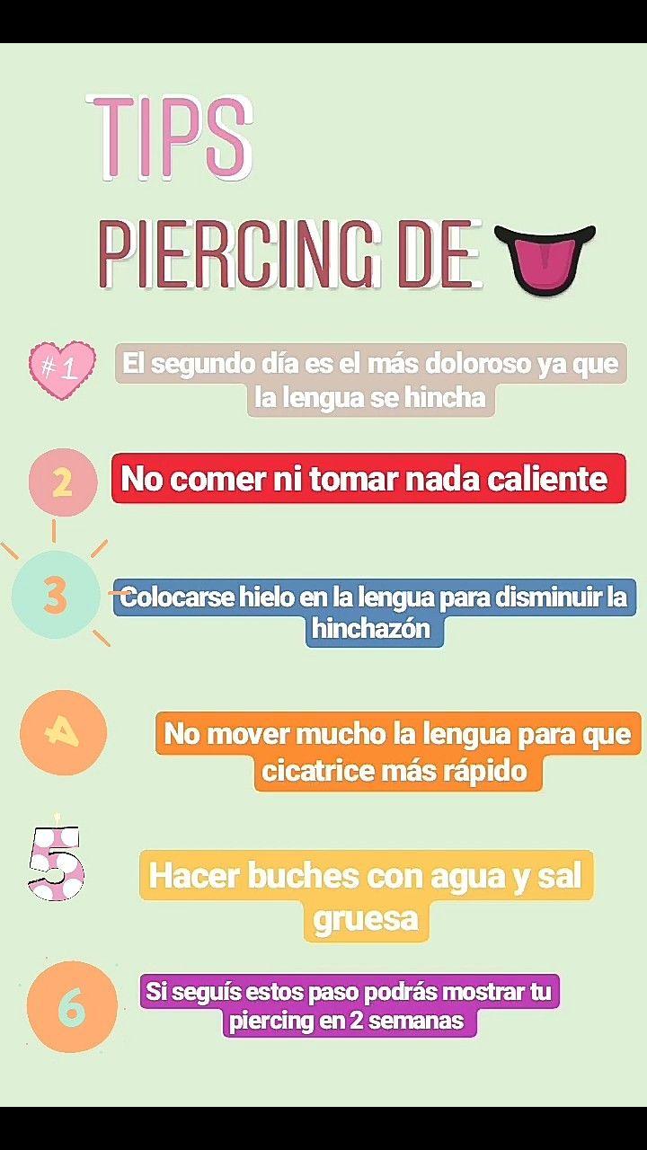 Tips De Piercing De La Lengua Piercing En La Lengua Piercings En La Lengua Perforaciones En La Lengua