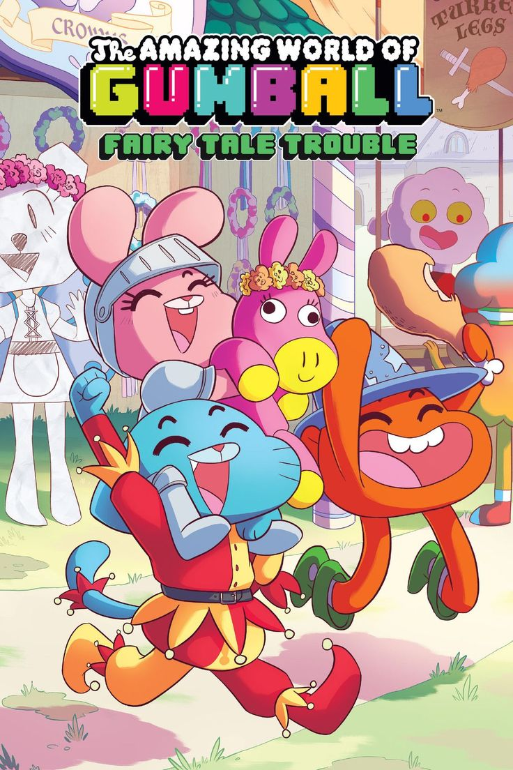 huawei fondo de pantalla The Amazing World of Gumball Vol. 1: Fairy Tale Trouble
