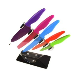 Taylors Eye Witness 5 Piece Sloping Knife Block with Knives