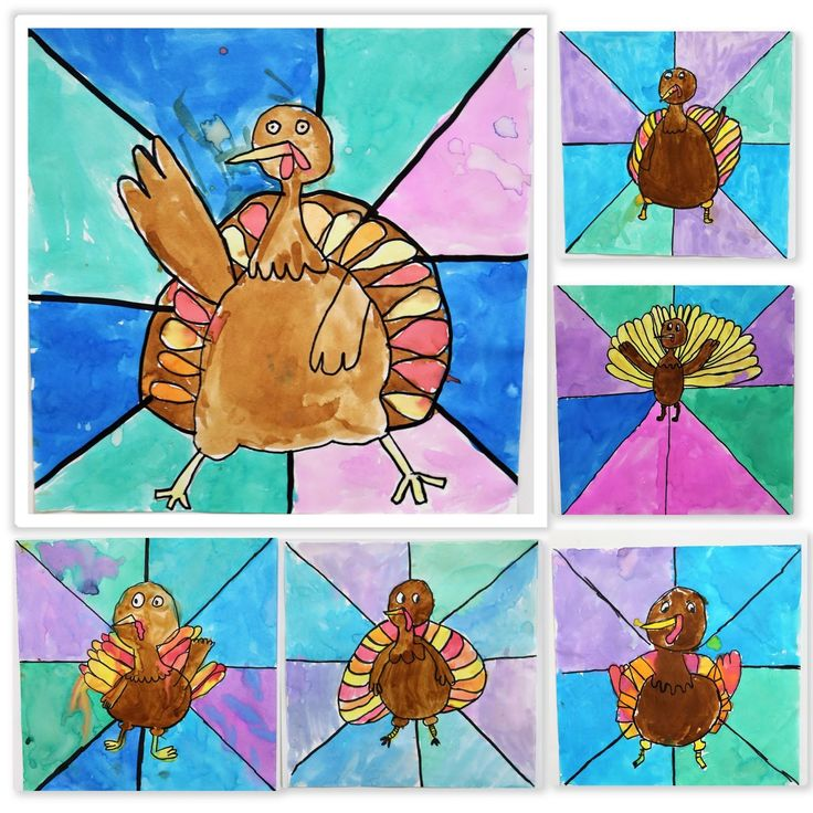 Turkeys, Thanksgiving, Thanksgiving Art Projects, Warm and Cool Colors, art ed, Art Education Blog, karen ray, The Westfield School, 2nd Grade, Kim and Karen 2 Soul Sisters Art Education Blog
