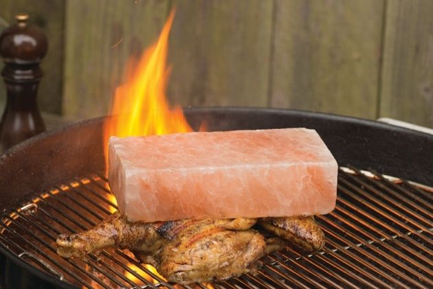 Salt block grilling 39 method miscellaneous pinterest for Cooking fish on a salt block