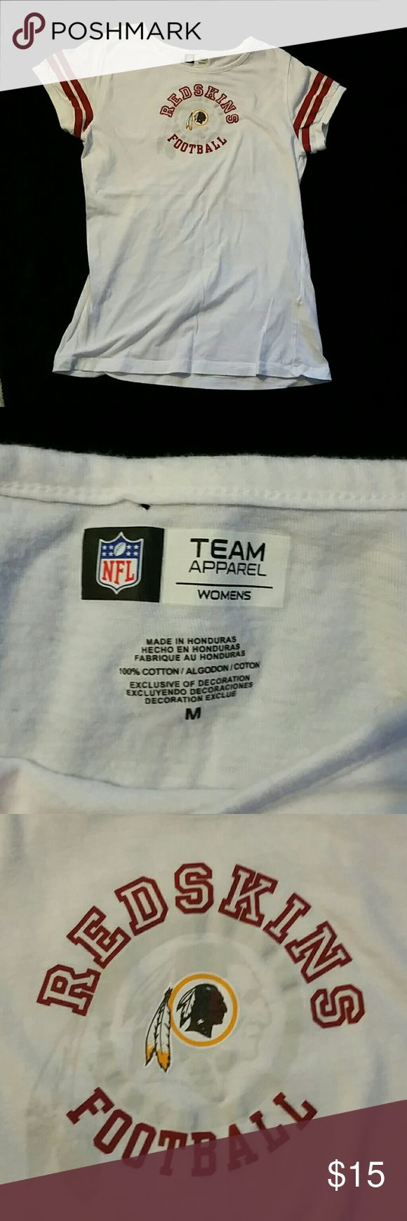 Redskin's T-shirt 100% cotton with a small hole (last Pic) NFL team apparel  Tops Tees - Short Sleeve