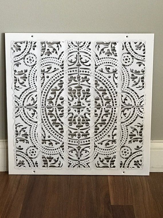 Mandala ReVent Cover Decorative Vent Covers Wall vent