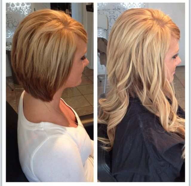 Micro bead extensions ~ hair by Katey at Dollhouse ~ Lacey, WA
