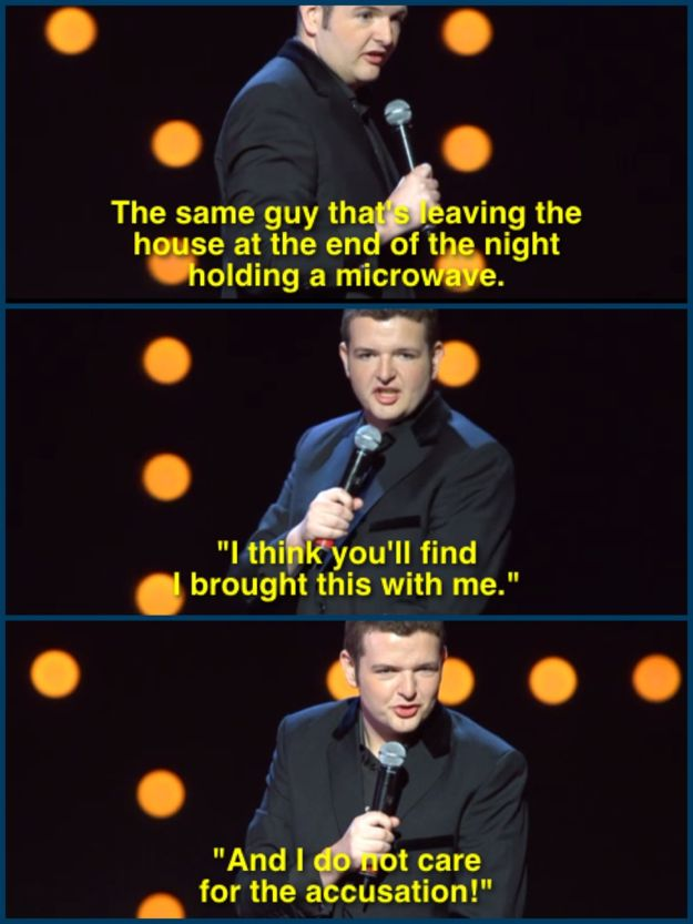 Who inevitably ends up doing this: | 19 Times Kevin Bridges Perfectly Summed Up Scottish Life