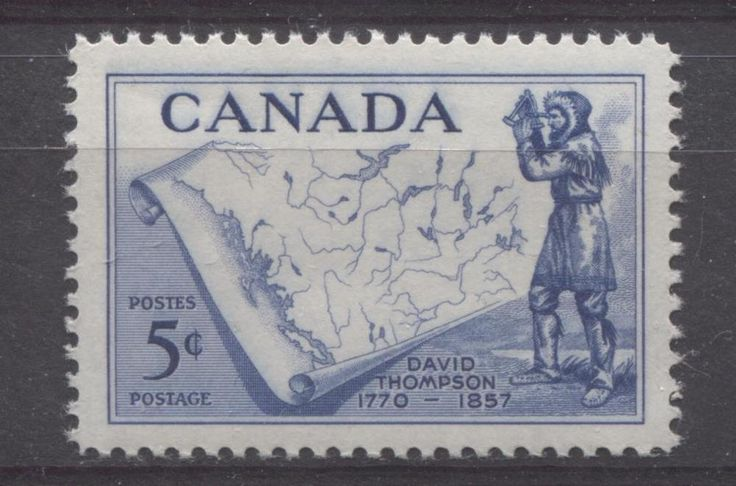 Regarded as one of the greatest land geographers who has ever lived, David Thomspson travelled over 90,000 km across North America, mapping 4.9 million square kilometers as he did it. He died in 1857 at the age of 87.