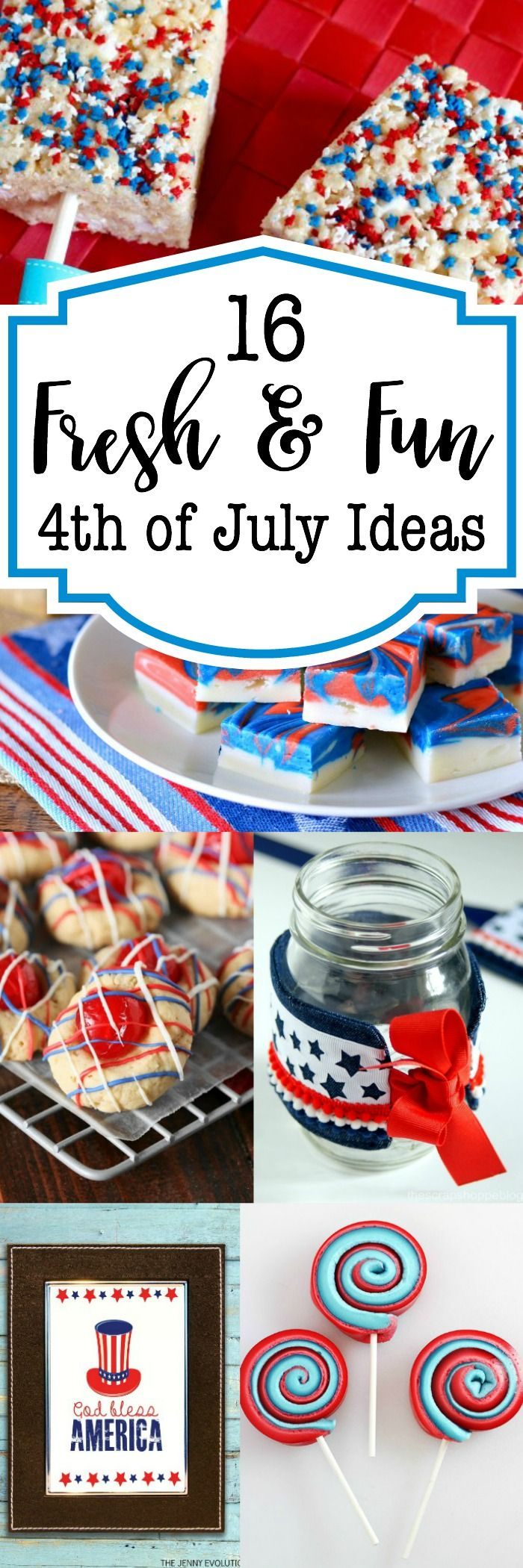 Virtual craft club diy vinyl wood slice sugar bee - 16 Fresh And Fun 4th Of July Ideas
