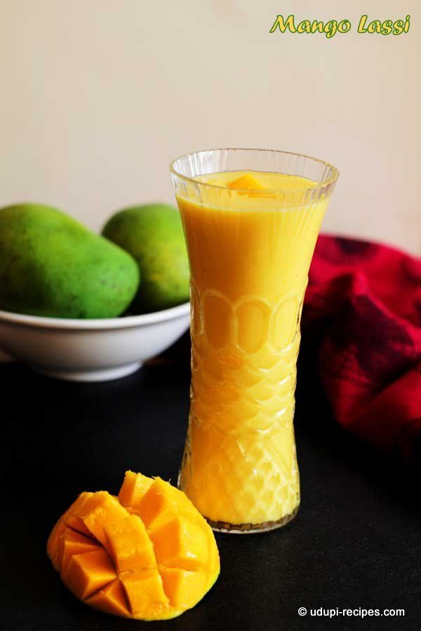 Cool yourself down with this Mango lassi in this scorching summer.