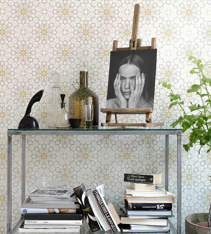 Interior Design Classic, Retro | EarthTwo Wallpaper by Eco | Jane Clayton
