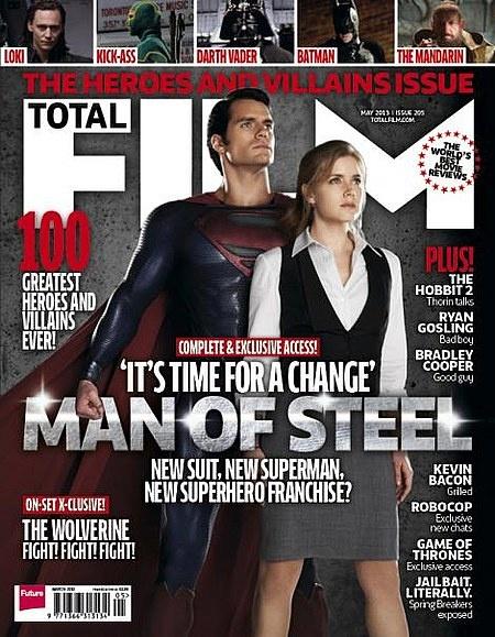 Total Film Magazine dedica la cover a L'Uomo d'Acciaio - Ecco Lois Lane