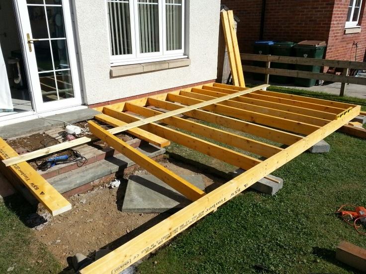 Deck frame