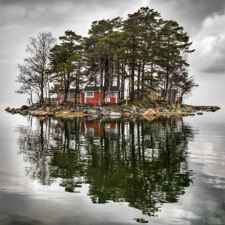 Little Cottage Island, Finland by Mikko Paartola