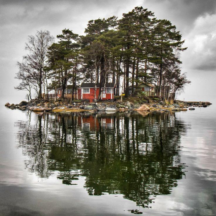Little Cottage Island, Finland by Mikko Paartola