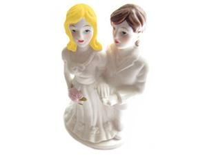 Two Brides Lesbian Marriage Wedding Cake Topper - (Can be Custom Painted) - Lesbian Merchandise Gay Pride Products