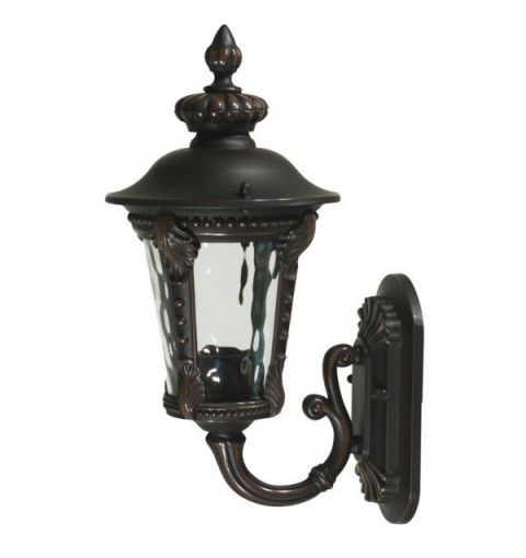 Small Elsternwick Exterior Coach Lamp, Atq Bronze