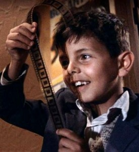 **Cinema Paradiso (Nuovo Cinema Paradiso) - Italy - (1988) Director: Giuseppe Tornatore  - A man looks back on his life in a small village, where he was friends with the town's projectionist and fell in love with movies.