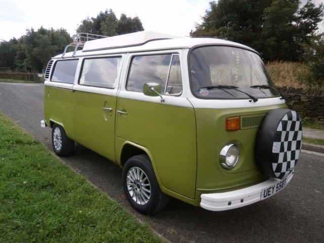 We are selling Gustav(Gus) our LHD 1979 VW T2 late bay camper van, he was imported from Germany abou
