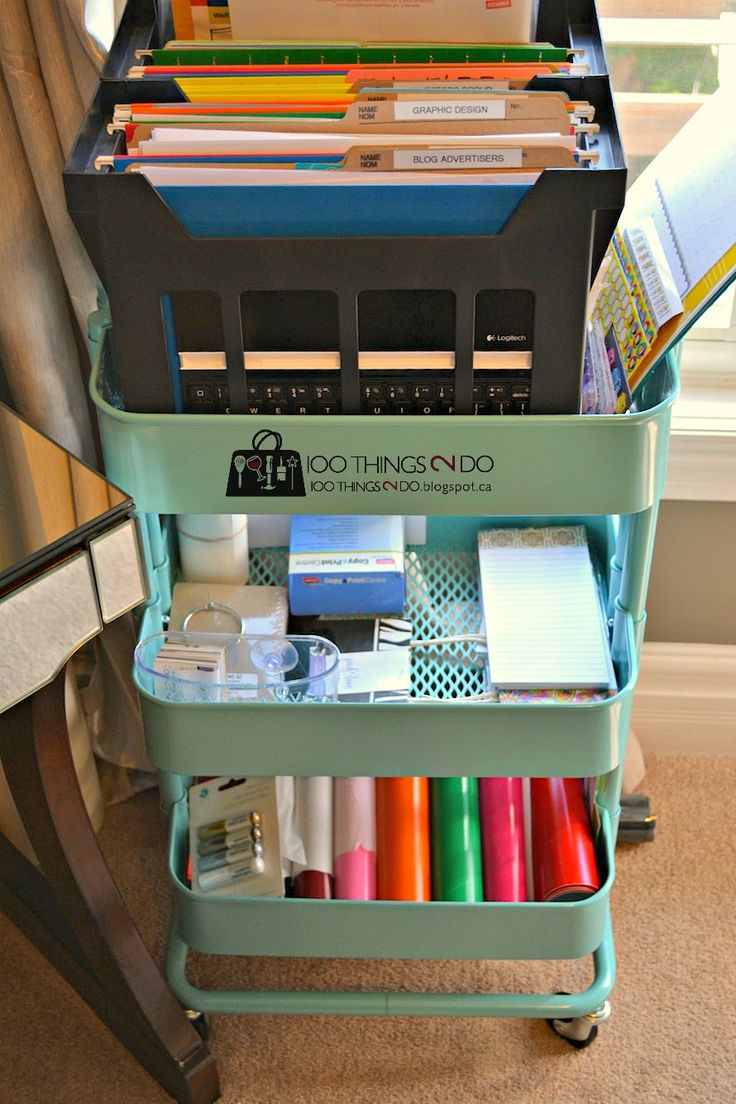 17 best images about tidy desk ideas on pinterest crafting ikea and craft supplies - Organizing craft supplies in small space collection ...