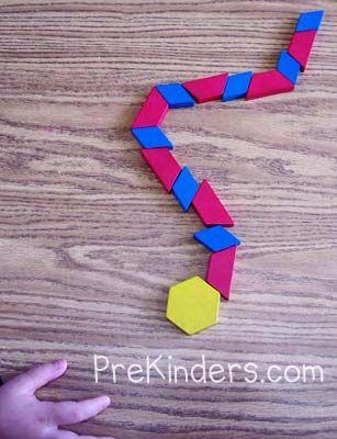 Preschool Pattern Activities for Math — PreKinders