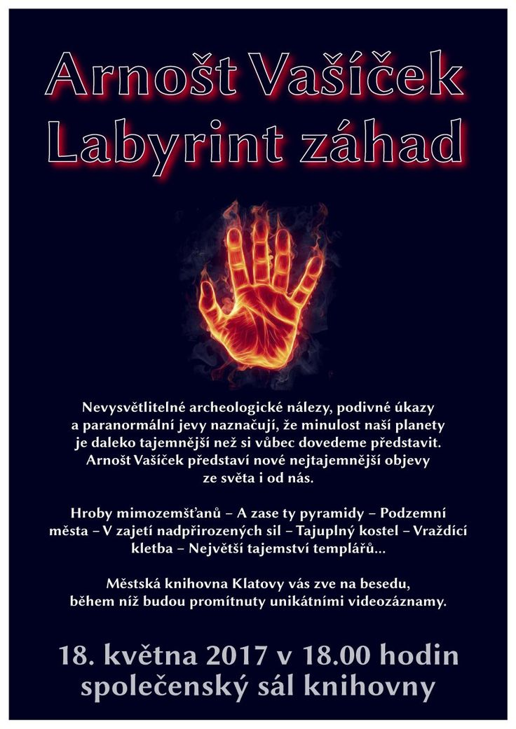 Arnošt Vašíček: Labyrint záhad