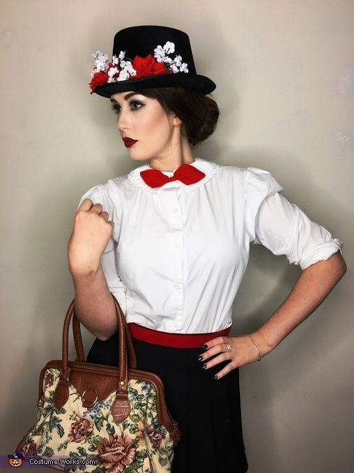 Mary Poppins Costume - Halloween Costume Contest