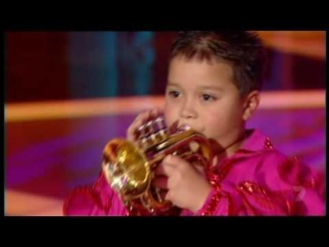 Little Bobby Harrison, Trumpet Player @Natalie Rose  I suddenly feel inferior
