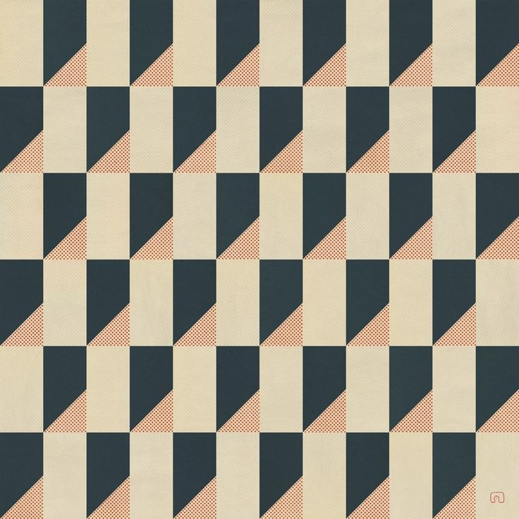 Pattern>The City Of Cherries N°02-01DA / Art By Slavomir Zombek #pattern #graphicdesign #texture