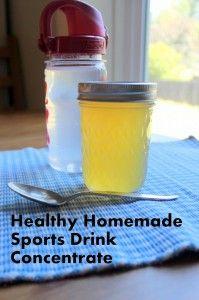 Healthy Gatorade Alternative Recipe