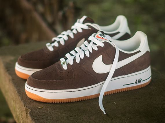 Nike Air Force 1 Low – Baroque Brown – Gum babe I neeeeeed these 615