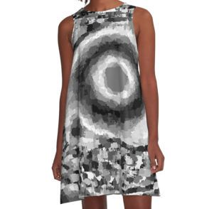 Into A Black Hole A-Line Dress available at http://www.redbubble.com/people/chrisjoy/works/880837-into-a-black-hole