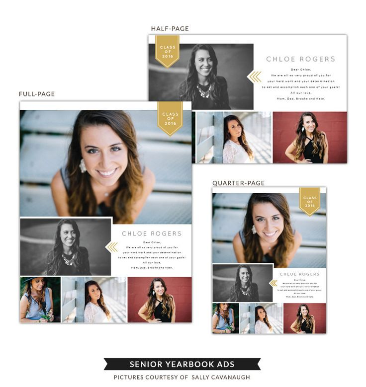 1000 idee n over senior ads op pinterest afstuderen for Yearbook ad templates free