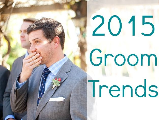 Bloggers + wedding experts share their favorite 2015 trends for the groom ~~ photo by Annie McElwain Photography