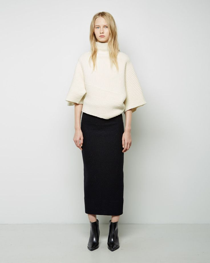 Acne Studios Grace Cropped Sweater
