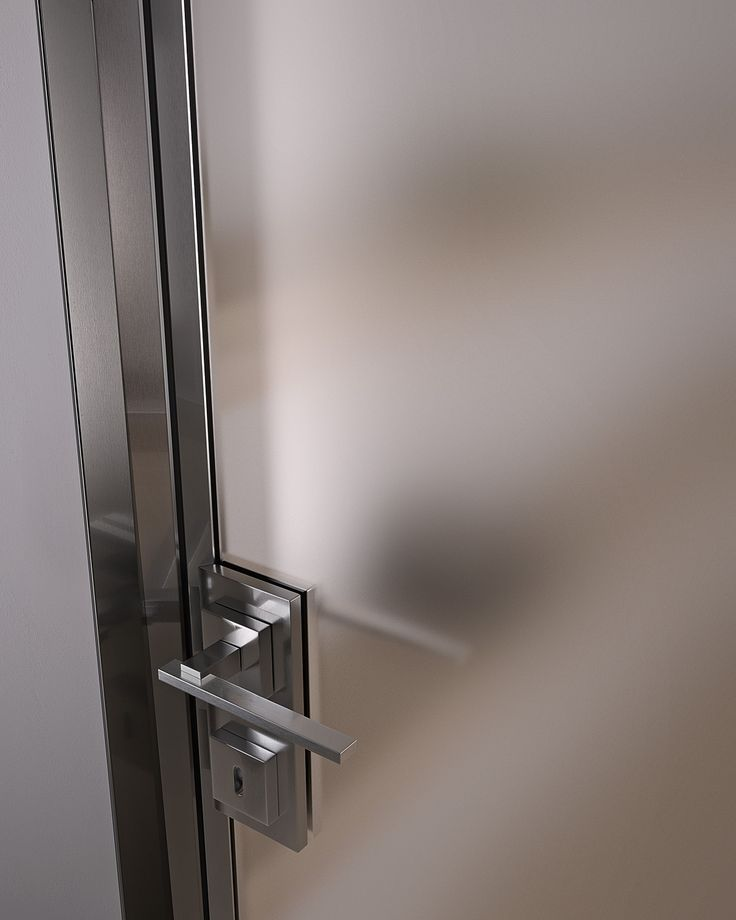 Hinged glass and aluminium door G-LIKE | Hinged door - GIDEA